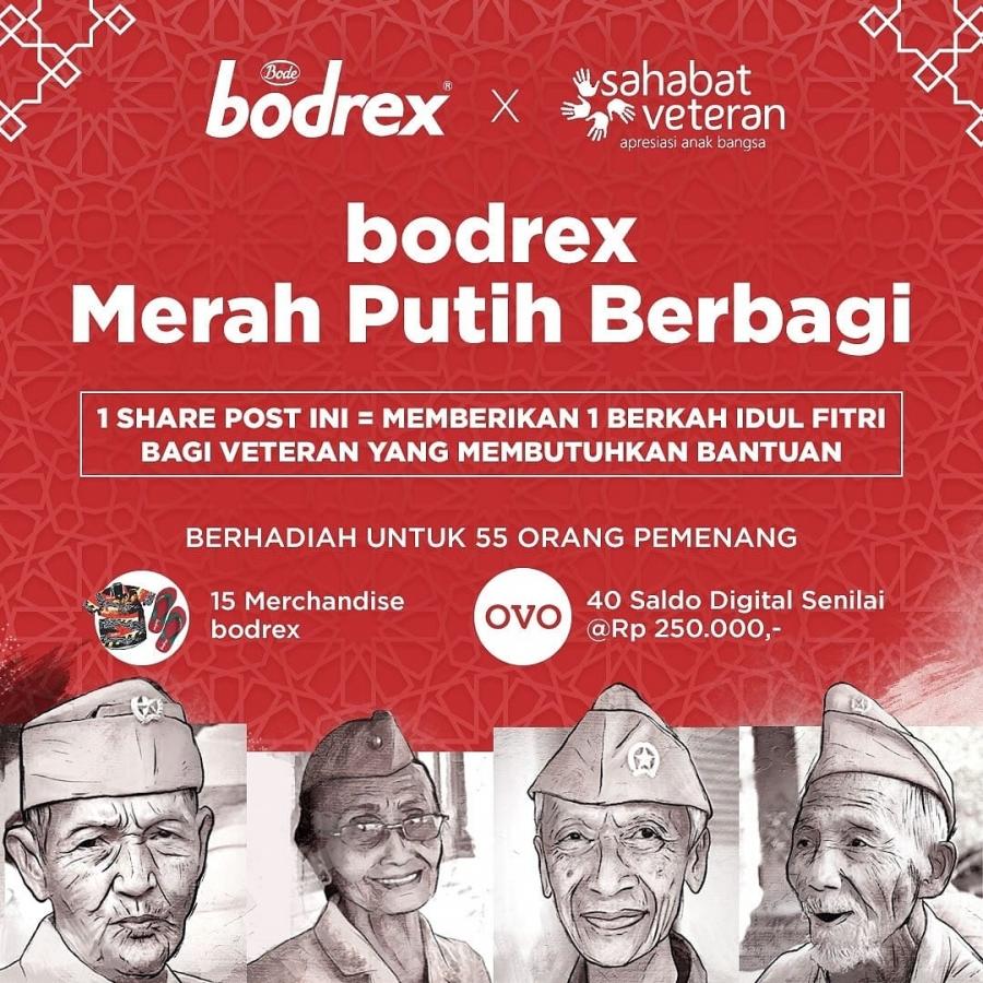 Bersama Bodrex Merah Putih Berbagi