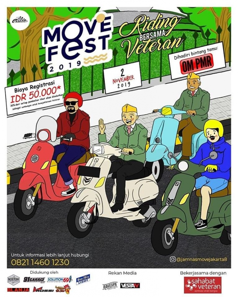 2/11/19 Movefest 2019: Riding Bersama Veteran