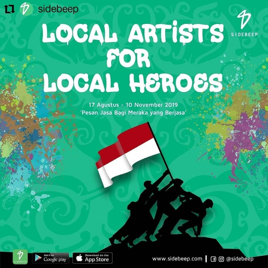 Satu lagi dari anak muda Indonesia untuk Veteran Indonesia tercinta