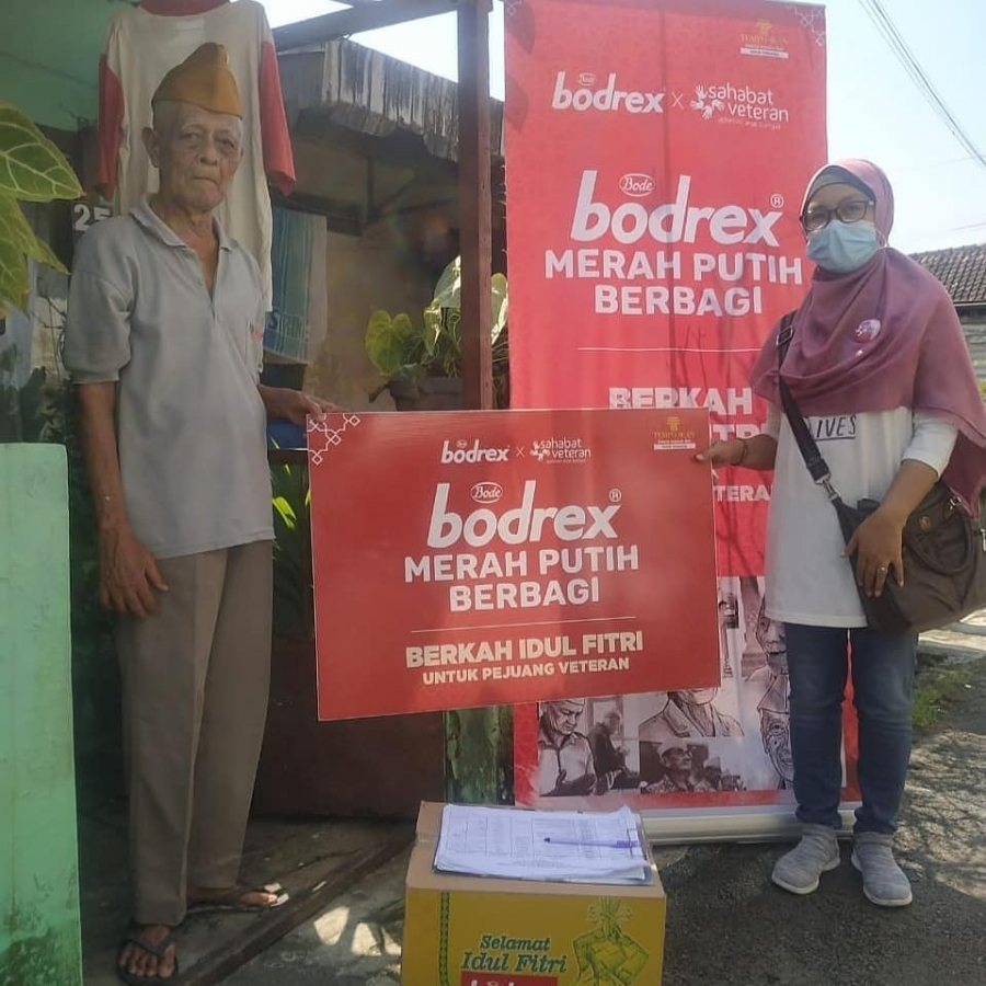 Kabar Bodrex Merah Putih Berbagi dari Semarang