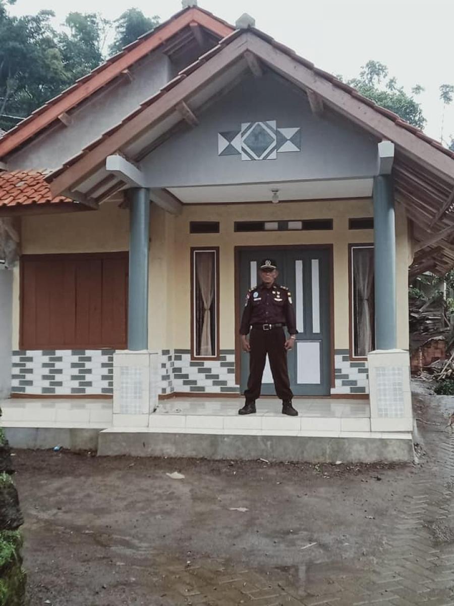 Bedah Rumah Veteran Pak Ici Selesai