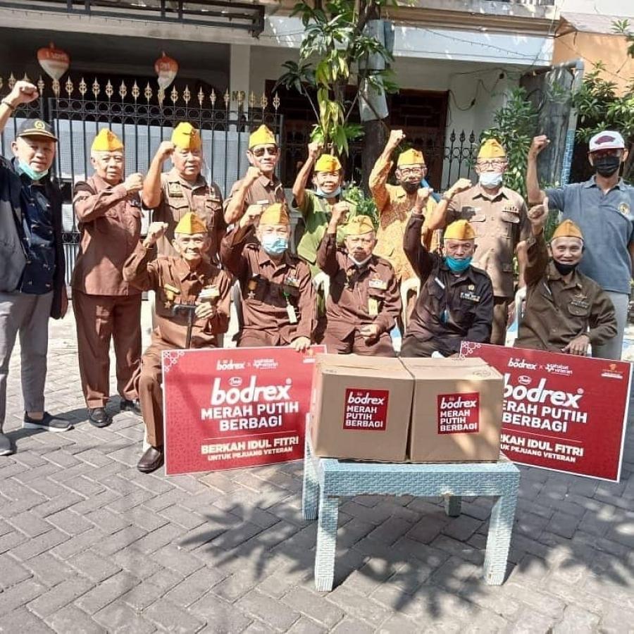11/05/21 Bodrex Merah Putih Berbagi di Surabaya dan Sidoarjo